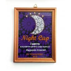 Наградные рамки «Night Cup 2015»