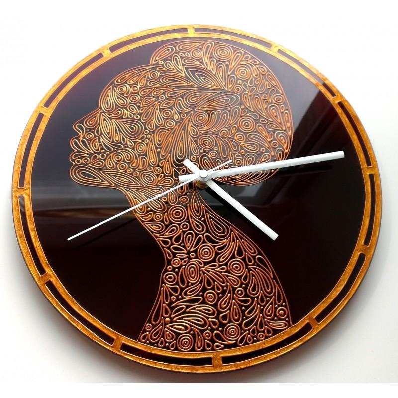 """Часы настенные """"Африканка"""""""