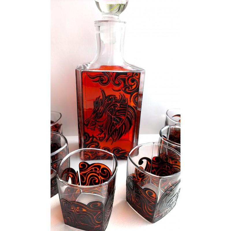 Набор для виски «Лев»