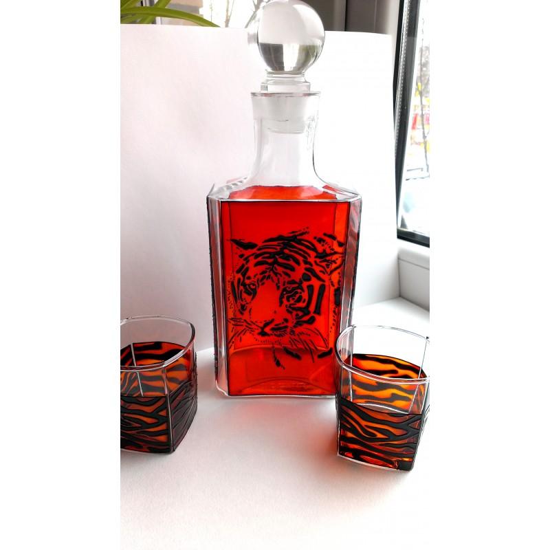 Набор для виски «Тигр»