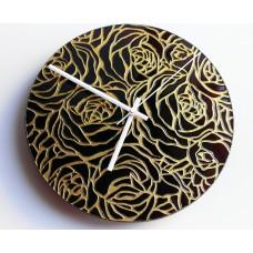 """Часы настенные """"Осенние розы"""""""